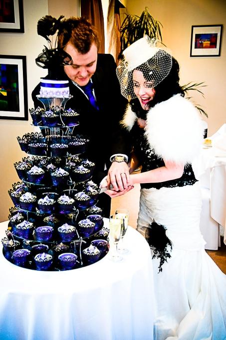 burlesque theme wedding